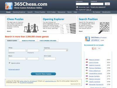 sito di scacchi