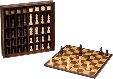 scacchi in legno