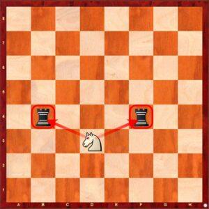 forchetta scacchi