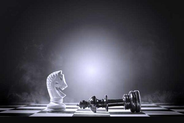 scacco al re nero